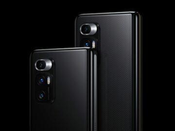 Xiaomi Mi MIX Fold fotoaparáty