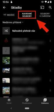 proč přejít ze Spotify na YouTube Music - youtube music vlastni nahrane soubory