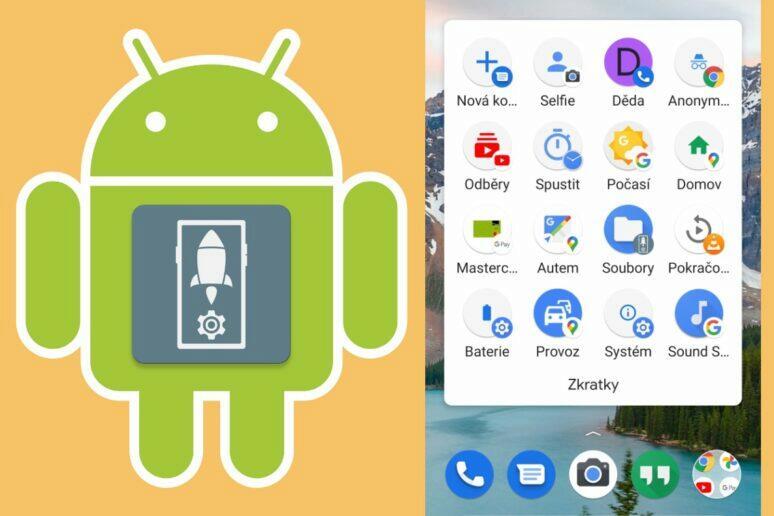zkratky na plochu Androida