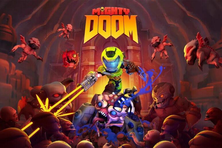 akcni hra mighty doom