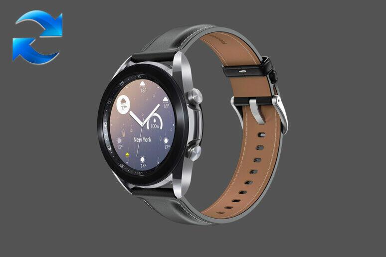 aktualizace Galaxy Watch 3