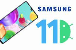 Android 11 samsung aktualizaci