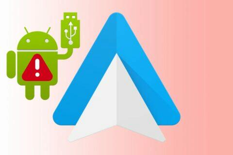 Android Auto ladění USB
