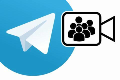 aplikace Telegram skupinové videohovory