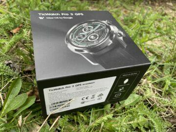 balení ticwatch pro 3