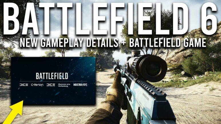 Battlefield 6 NEW Gameplay Details and Battlefield Game Announcement!