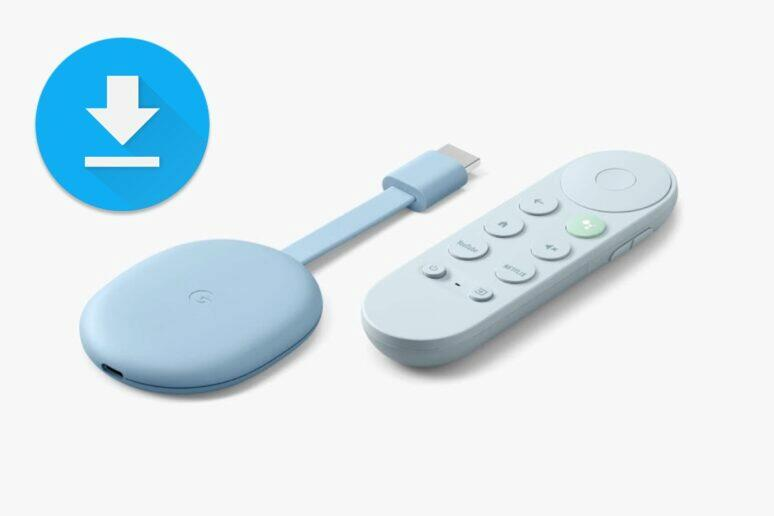 Chromecast s Google TV aktualizace