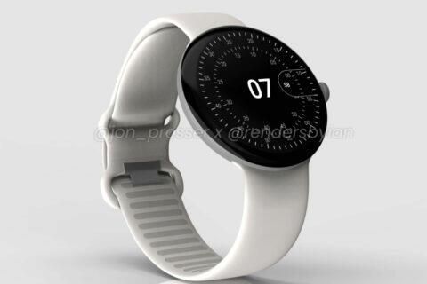 chytre hodinky google pixel watch poodhaleny
