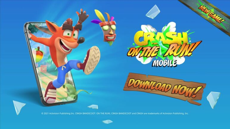Crash Bandicoot: On the Run! | Out Now On Mobile | Launch Trailer