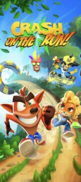 Crash Bandicoot On the Run Android logo