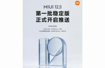 Další telefony dostávají MIUI 12.5