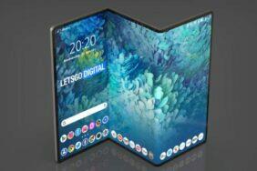 dvojitě ohebný Samsung tablet