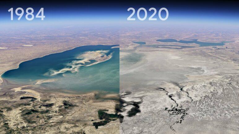 Exploring Timelapse in Google Earth