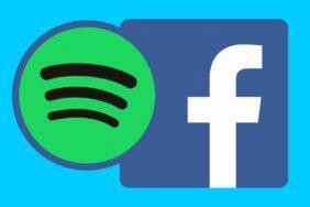 Facebook Spotify integrovaný přehrávač