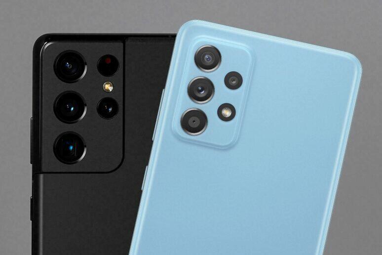 Galaxy A52 aktualizace fotografické funkce