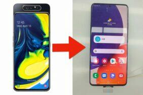 Galaxy A82 únik