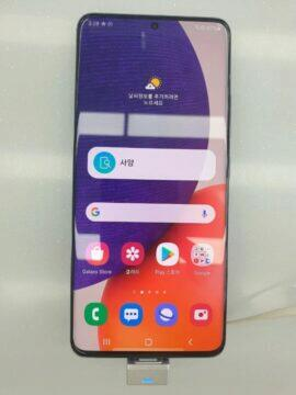Galaxy A82 únik - ořední strana