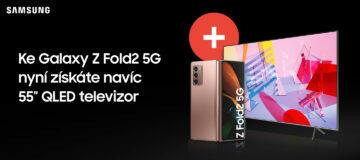 Galaxy Z Fold2 televizor za korunu banner