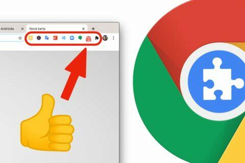 Google Chrome klávesové zkratky rozšíření