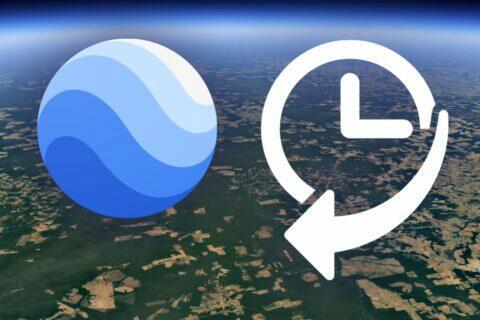 Google Earth změny na Zemi