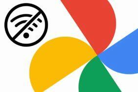 Google fotky alba offline