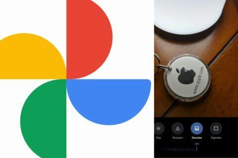 google fotky Nástroje Doostřit Redukce šumu