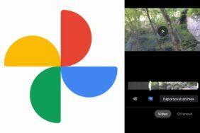 Google Fotky nový video editor
