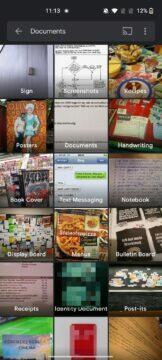 google fotky vyhledavani dokumentu - filtry