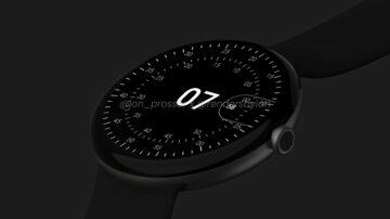 google pixel watch render