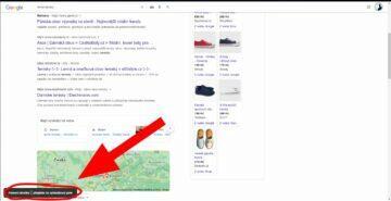 google vyhledávání zkratka pro rychlou editaci ukázka