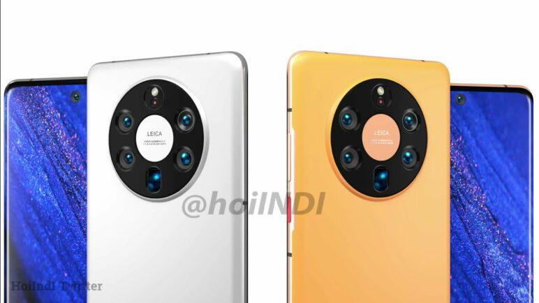 Huawei Mate 50 Pro Plus Renders, Penta Camera, Curved Edge Display and More
