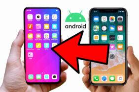 jak přejít z ios na android