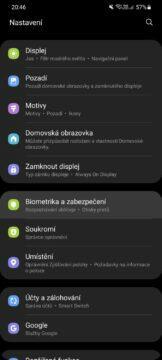 Jak v Samsung mobilu skrýt soubory Zabezpečená složka nastavení