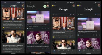 kanál Objevit nový vzhled Android 12 ukázka