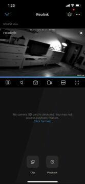 kvalita kamery noční vidění