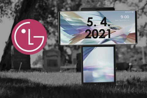 LG konec výroby mobilů