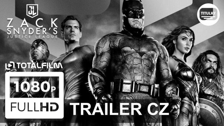 Liga spravedlnosti Zacka Snydera (2021) trailer final CZ HD
