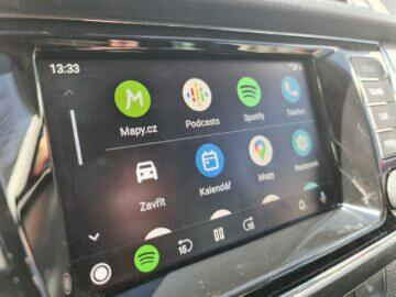 Mapy.cz Android Auto ikony