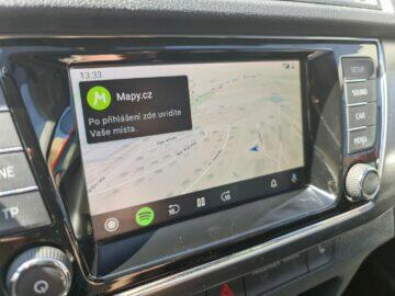 Mapy.cz Android Auto náhled