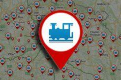 Mapy.cz železniční tratě