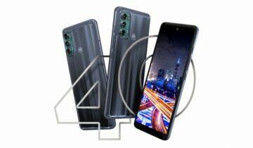 Motorola Moto G60 a G40 Fusion