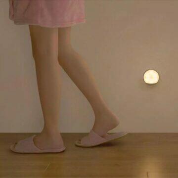 Noční světlo Xiaomi Mijia do zásuvky pohyb