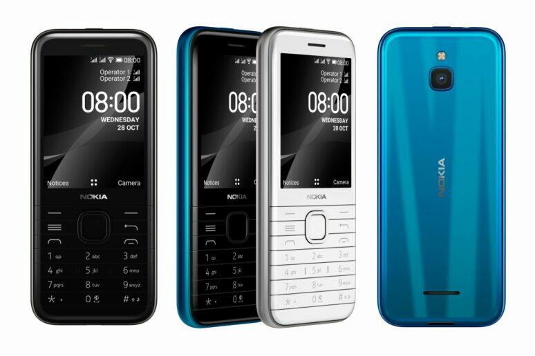 nová Nokia 8000 4G