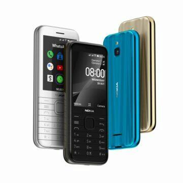 nová Nokia 8000 4G barvy