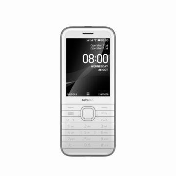 nová Nokia 8000 4G šedá