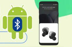 nová verze Android Fast Pair