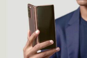 nové ohebné samsung telefony