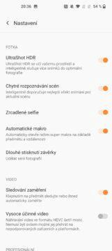 OnePlus 9 pro fotoapp nastavení 1