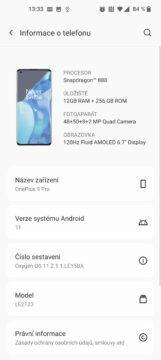 OnePlus 9 pro info
