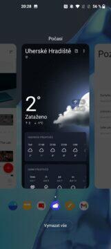 OnePlus 9 pro multitasking